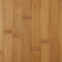 horizontal grain amber bamboo