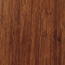 strand woven amber bamboo